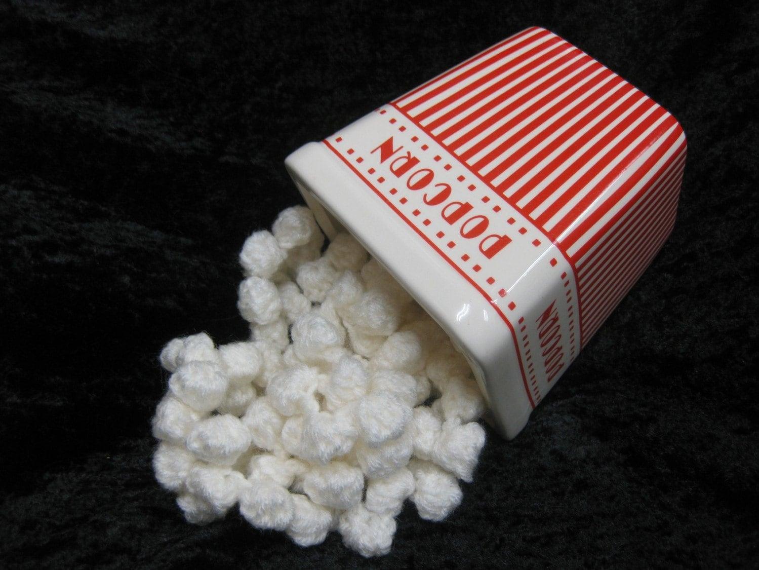 Ready to Ship Christmas Tree Popcorn Garland-10-ft-Crochet