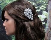 Sale -  Sparkling Rhinestones Hair Comb - was 45.00