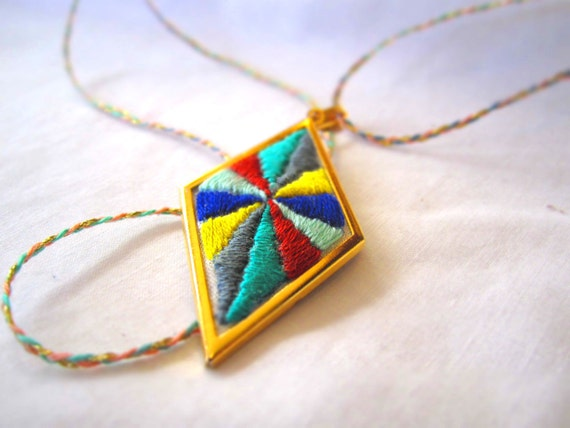 Let's go fly a kite necklace