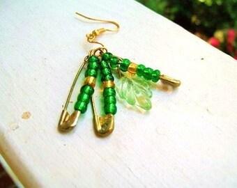 Glass Wire Earrings