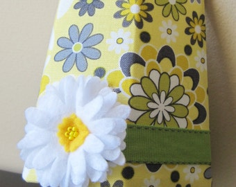 SALE!! Yellow and Green Floral - Girl's - Night Light