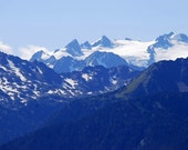 Olympic Mountains-11x14 photograph-Glaciers and ridges