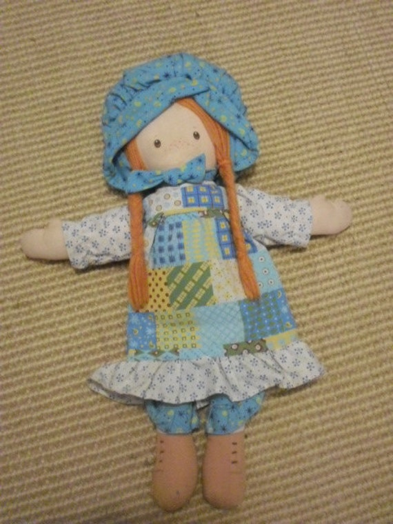 Vintage Holly Hobby Cloth Doll 1974