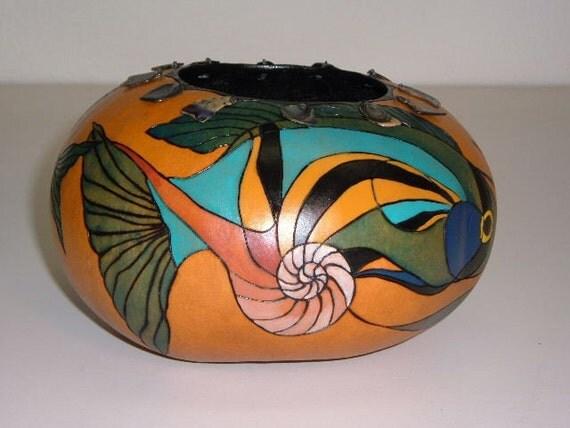 Ocean Fantasy gourd