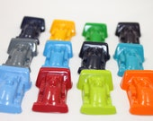 15 sets of 2 race car crayons - in cello bag tied with ribbon - choose your colors
