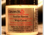 Whipped Shea Butter - 8oz Whip Crème Sunrise Passion