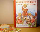 Vintage Children's Book - Flicka, Ricka, Dicka and the Big Red Hen