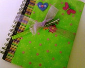 FREE SHIPPING - Recycled Inspirational Journal Gift Set