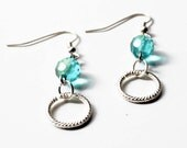 Crissy Earrings in Turquoise- Featured on Etsy Front Page