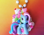 Stunning Swarovski My Little Pony Pendant Necklace