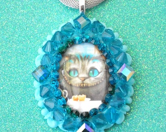 Sale Swarovski Cheshire Cat Necklace
