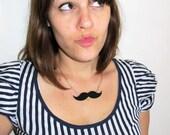 Mustache Necklace - women size