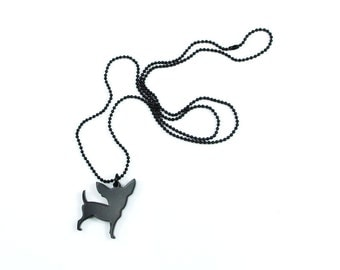 Chihuahua Dog Necklace - SMALL