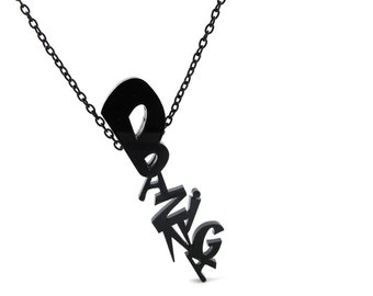 The Big Bang Theory - Bazinga necklace