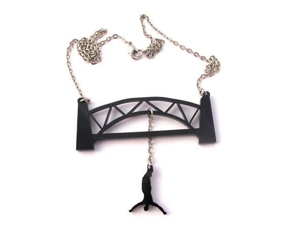 Bungee Jumping Extreme Necklace