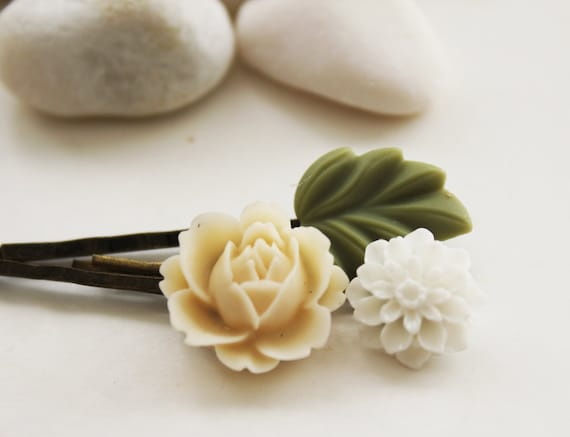 Secret Garden Hair Pins Set 4