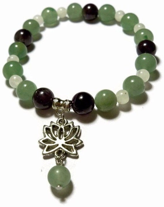 The Mud and the Lotus Stretch Bracelet - RESERVED FOR SONJA