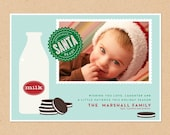 Holiday Photo Greeting Card - Ready for Santa
