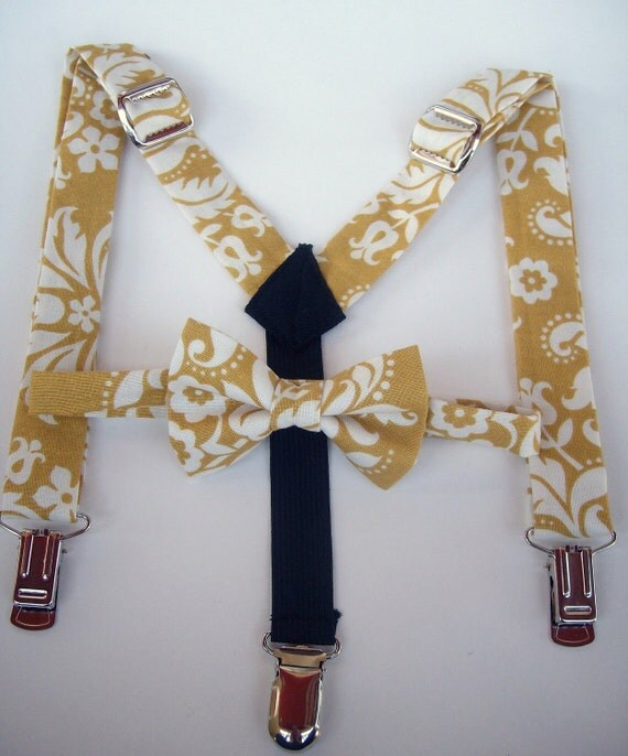 items similar to sale bow tie and suspenders for toddler