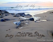 Tribute Memorial Rememberance loved one names written any message, ooak writing in the REAL beach sand, .jpeg download YOU Go PRiNT