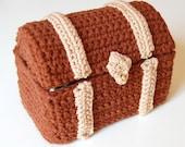 crochet pattern - toy chest