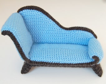 crochet pattern - chaise longue