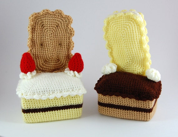 crochet pattern - cake couches
