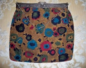 Netherland ca 1920 tapestry bag with silver  frame
