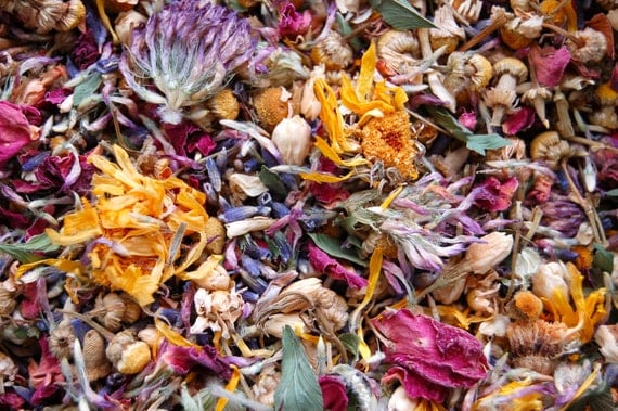 Flower Song Tea Blend - Organic
