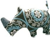 Dog Toy // Dog Toy Squeak //  Rhinoceros