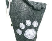 Leash Bag - Little Paw Print