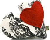 "Extra Durable Dog Toy Valentine All My Heart - ""DOUBLE FABRIC LAYER Construction"""
