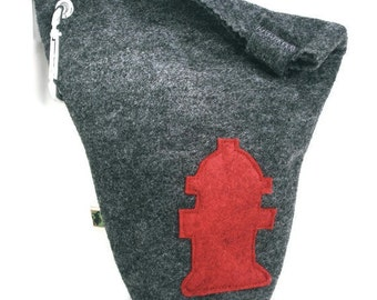 Leash Bag Little Fire Hydrant