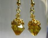 Drop of Honey Earrings
