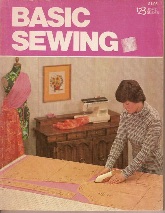 BASIC SEWING Illustrated Easy to Use 1978