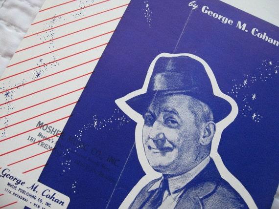 1931 Give My Regards To Broadway Sheet Music