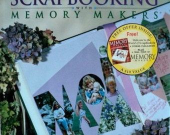 Scrapbooking with Memory Makers - Hardcover Book
