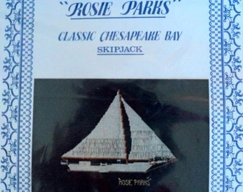 "Vintage - The ""Rosie Parks"" Cross Stitch Kit - Cadle Creek - Design is 8"" x 9"""