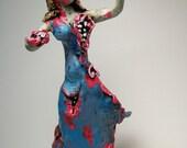 3 Custom Zombie Sculptures Reserved for acrubio86