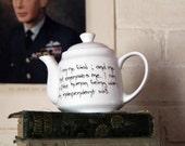 Charlotte Bronte Jane Eyre Unique Teapot