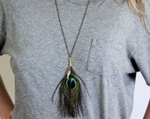 Fish and Fowl Necklace by RUM PUNCH