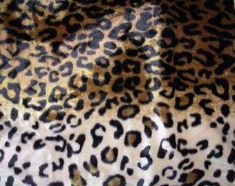 Brown Leopard Animal Print