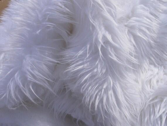 White Faux Fur