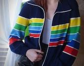 Rainbow Zip Jacket