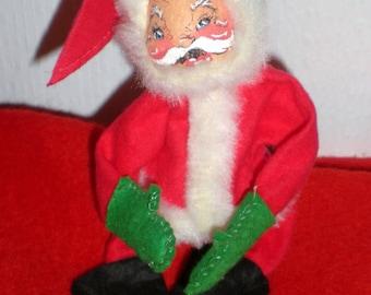 1963 Annalee Felt Santa Doll