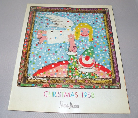 1988 neiman marcus christmas catalog for Neiman marcus christmas cards