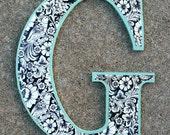 Wooden Decorative Letter G
