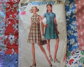 1969 Simplicity Stepin Dress Pattern 8140 (P106)