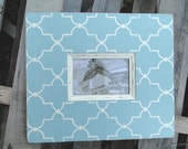 4x6 Trellis Distressed Picture Frame