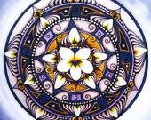White Violet Mandala